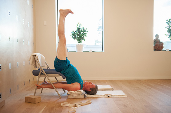 Iyengar + Wall Classes | Breathe Yoga + Wellness Centre